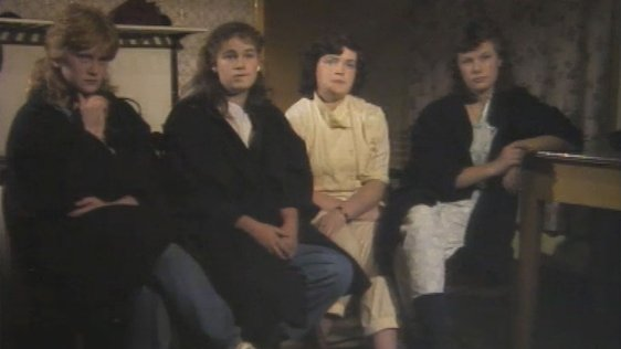 Mary Hanley, sisters Patricia McGuinness and Colleen McGuinness, and their cousin Mary McGuinness