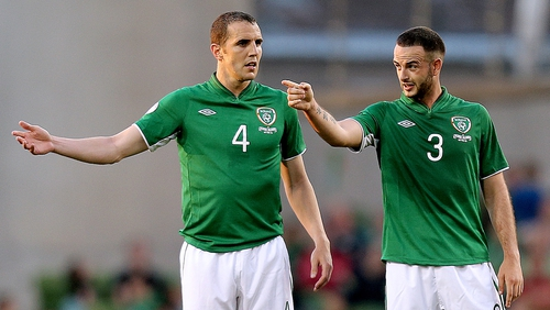 John O'Shea is struggling with an injury, while Marc Wilson is suspended