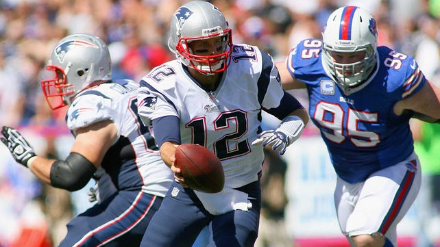 Tom Brady boasts an incredible 21-2 winning record for the New England Patriots against the Buffalo Bills