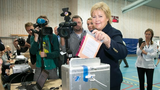 Erna Solberg has shaken off her 'Iron Erna' mantle to become Norway's second female prime minister