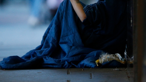 The group recorded the number of people sleeping rough in both north and south inner areas of the city