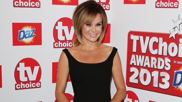 Amanda Holden at the recent TV Choice Awards