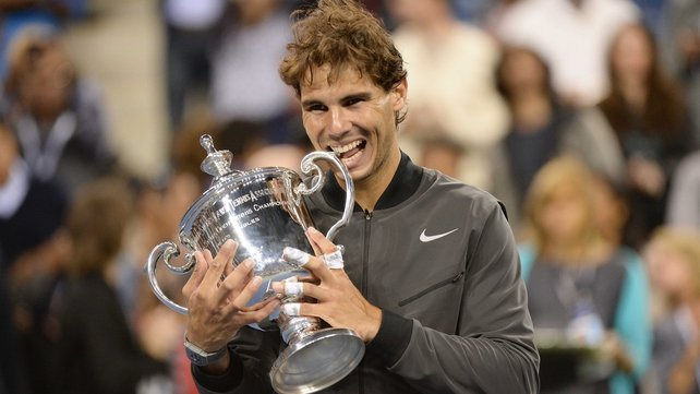 Rafa Nadal's victory in New York was his second grand slam success in 2013