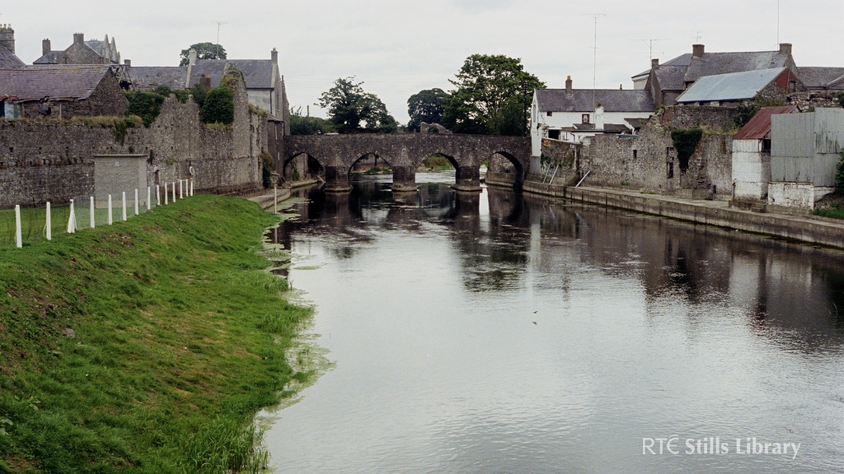 Bridge identified as St. Peter's Bridge on the River Boyne, Trim, Co. Meath