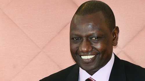 William Ruto is accused of orchestrating violence after an election five years ago