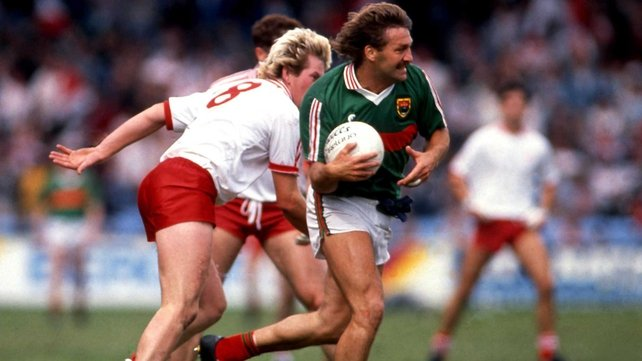 Mayo's Willie Joe Padden forms an all Connacht partnership in midfield with the late Dermot Earley