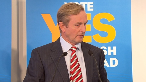 Enda Kenny insisted the Seanad had no role in holding the executive to account