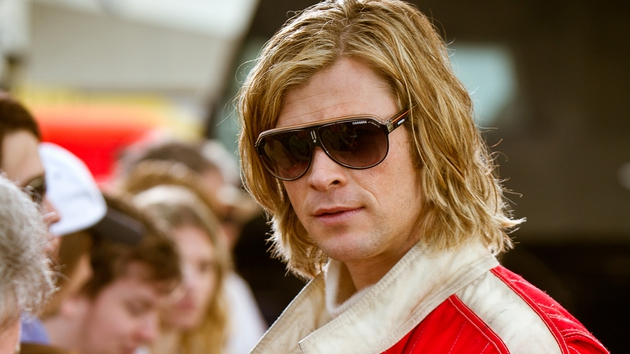 Chris Hemsworth impresses as party animal James Hunt