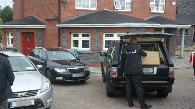 The CAB operation was part of a Europol initiative into activities of an international criminal gang