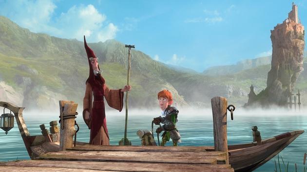 The animation is visually engaging but lacks big budget polish