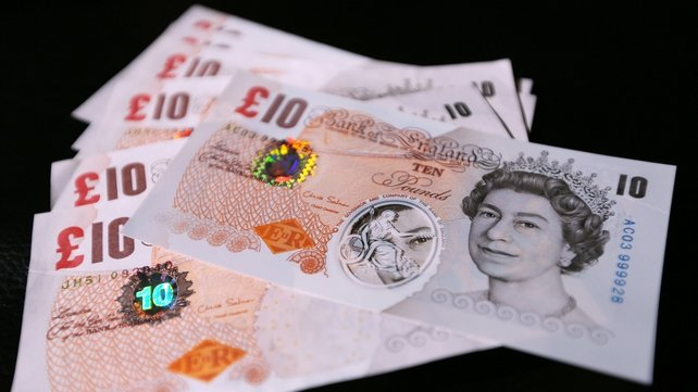 Samples of the polymer £10 banknotes that could soon be in circulation in the UK