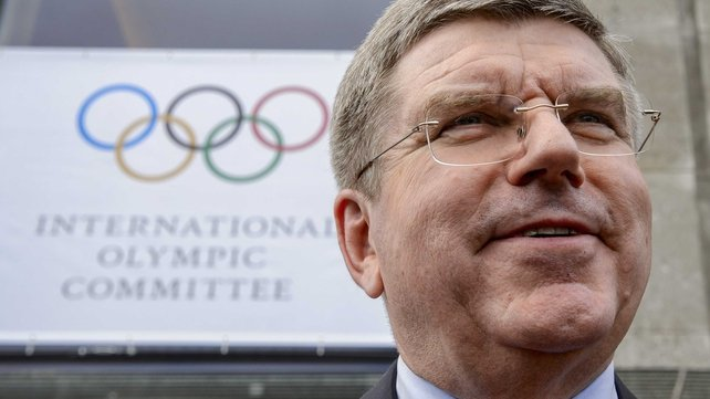 Thomas Bach beat off five rivals in the vote to become IOC President