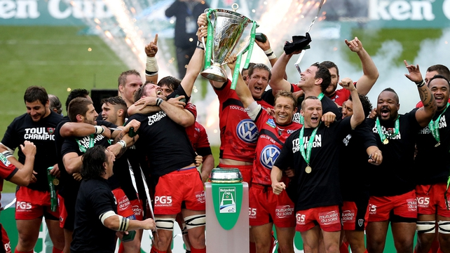 Toulon are the current holders of the Heineken Cup