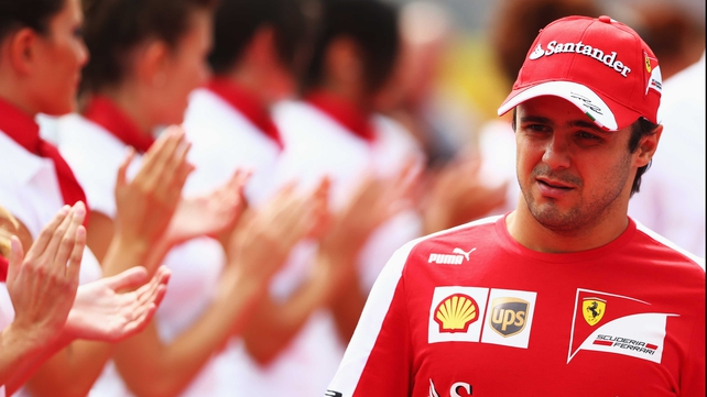 Felipe Massa used Twitter to break the news