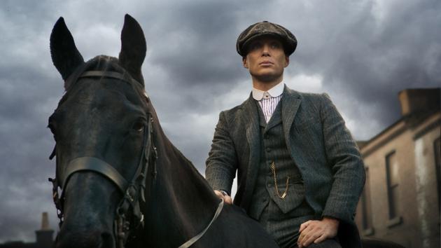 Cillian Murphy as Thomas Shelby in Peaky Blinders