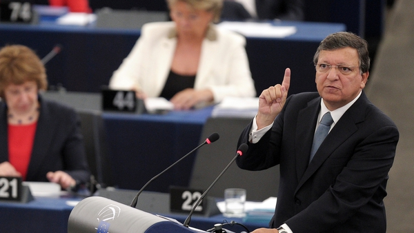 José Manuel Barroso made his last state of the union address before European elections in May