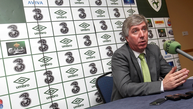 John Delaney wants to see the new Ireland manager appointed before Christmas