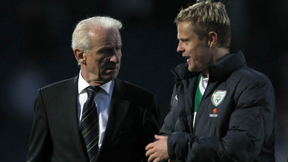 Fans favourite Damien Duff soon became a favourite of the boss too
