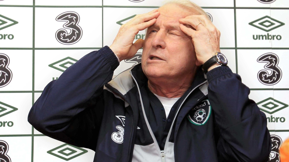 Press conferences were often a headwreck for both Trapattoni and the media alike