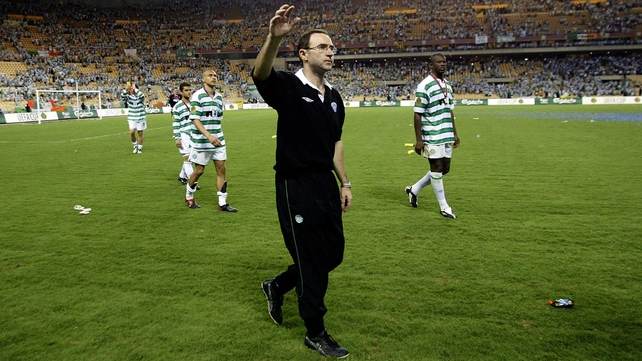 Martin O'Neill previously managed Leicester, Celtic and Aston Villa