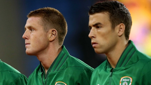 Ireland internationals James McCarthy and Seamus Coleman could feature for Everton against Chelsea