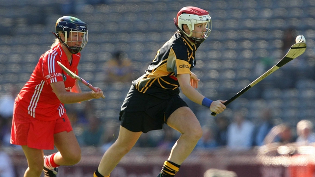 Aoife Neary (right) and Kilkenny have already beaten Galway in this year's Championship