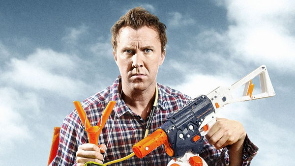 Man with transmission: popular TV comic Jason Byrne releases memoir.