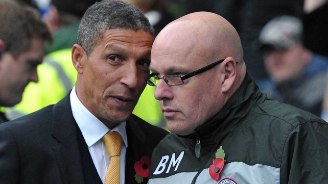 Both Chris Hughton and Brian McDermott say they are content