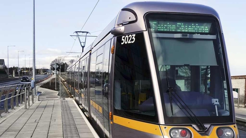 Alstom supplies and maintains the trams for Dublin's Luas