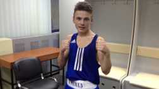 Willie Donoghue won his bout with a unanimous decision