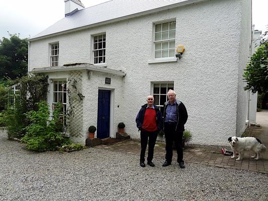 Seán Ó Gallachóir agus Cathal Mac Loinsigh as Gleann Fhinne
