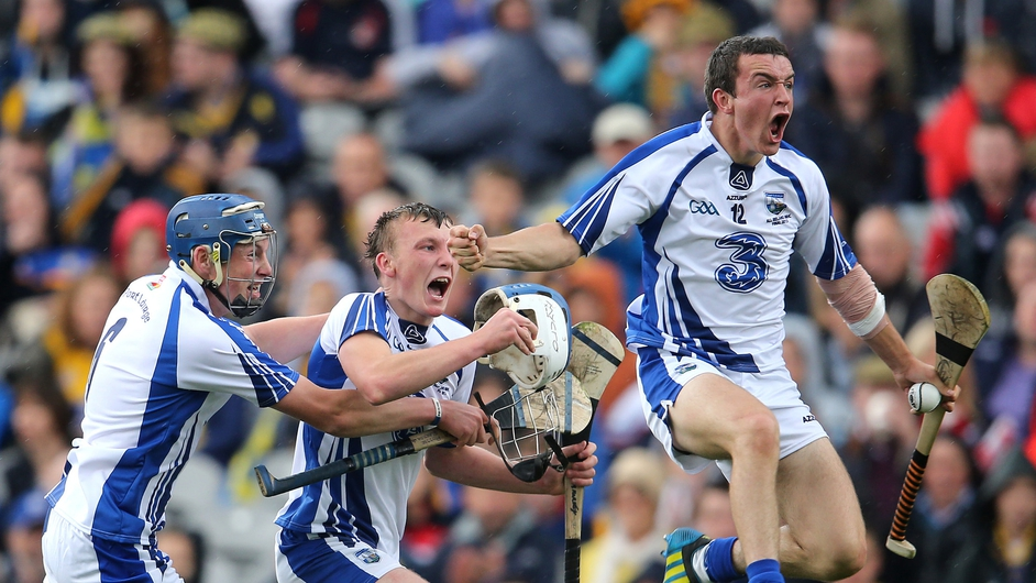 Earlier in the day, the Waterford minor hurlers celebrated a rare All-Ireland victory for the county