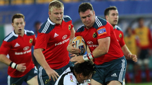Munster host Newport Gwent Dragons at Musgrave Park