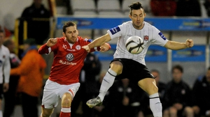 Richie Towell again showed his class as the Lilywhites hammered Shelbourne to advance to the FAI Cup semi-finals