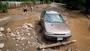 The floods were triggered by unusually heavy late-summer storms that drenched Colorado's biggest urban centres