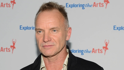 """Sting was """"saddened and distressed"""" at the news"""