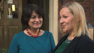 Former Minister of State Lucinda Creighton (R) again insisted the Reform Alliance had no plans to form a political party