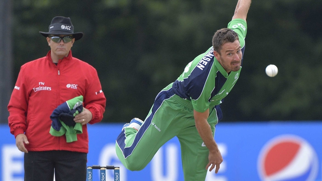 Max Sorensen finished off Scotland in Clontarf today as Ireland romped to victory