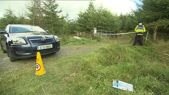 A garda search team will comb the area looking for clothes and other identifiable items