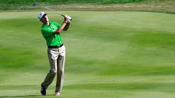Jim Furyk followed up his amazing second-round 59 with a two-under 69