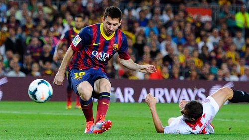 Messi has been ruled out for up to two months