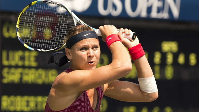 Lucie Safarova was a wild card for Quebec
