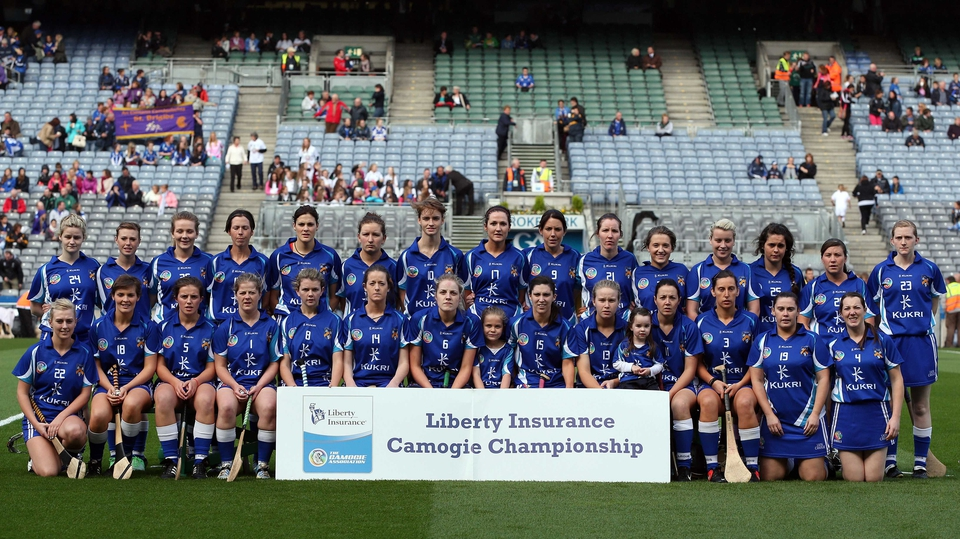 Laois - All-Ireland junior camogie finalists