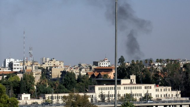 There have also been reports of clashes on the outskirts of Damascus