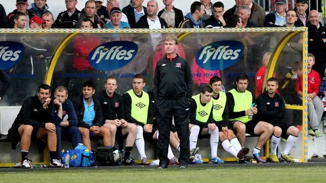 Stephen Kenny joined Dundalk in 2012