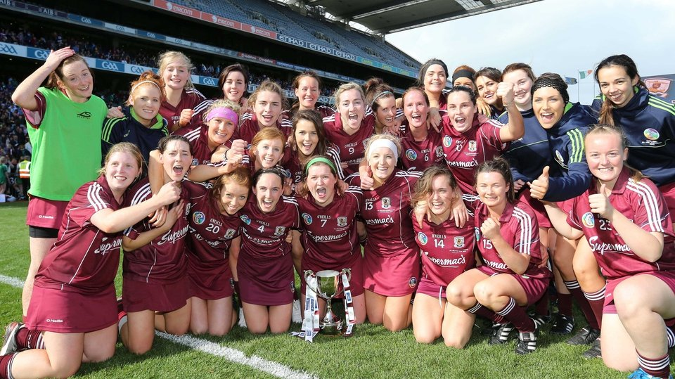 Galway - All-Ireland intermediate camogie champions