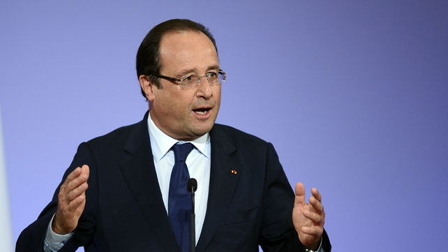Francois Hollande said a resolution could be voted on by the end of the week