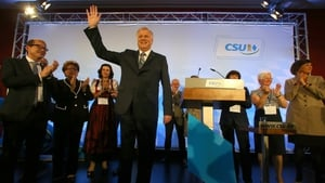 State premier Horst Seehofer said: 'Every second Bavarian voted for us'