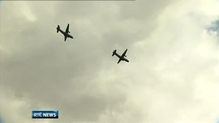 Thousands turn out to see rare planes swoop over Dublin
