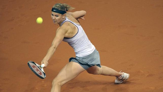 Lucie Safarova won in straight sets